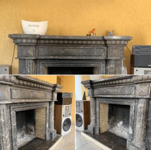 Välikamina renoveerimine